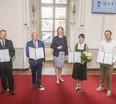 Forschungspreise des Landes Steiermark verliehen!