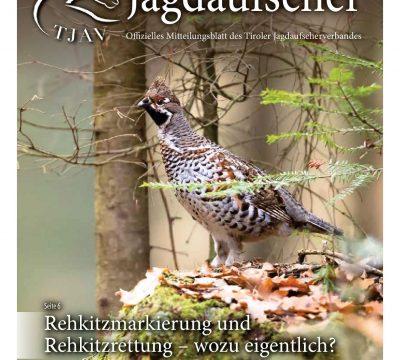 Der Tiroler Jagdaufseher Nr. 38., Ausgabe 1/2020