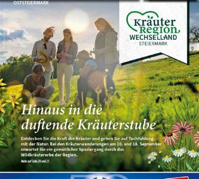 Oststeiermark September 2021