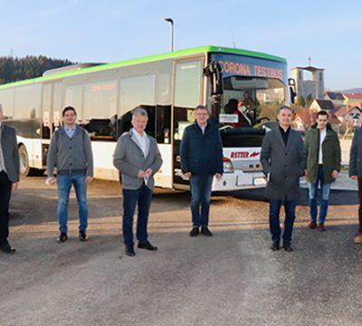 Busse ergänzen Antigen-Testangebot im Bezirk Hartberg-Fürstenfeld