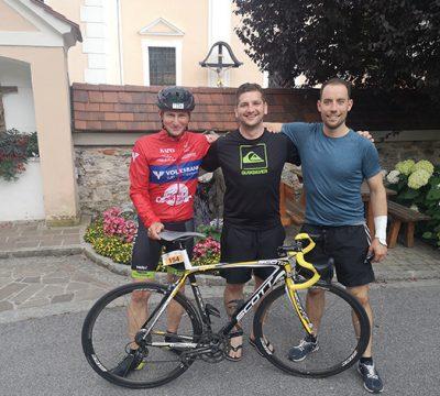 Bürgermeister meisterten den Hochwechsel-Triathlon