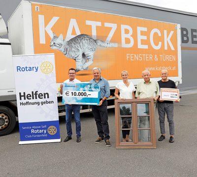 Katzbeck Fenster & Türen hilft Erdbebenopfern